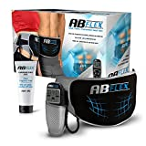 Ab Flex Hochentwickelter Bauchmuskeltrainer Elektrisch Gürtel für Einen Durchtrainierten Bauch - 99 Intensitätsebene und 10 Programme für Schnelle Ergebnisse - Batterien Enthalten
