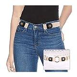 SUOSDEY Stretchgürtel Damen Elastischer Gürtel Damen Unsichtbarer Gürtel Ohne Schnalle Für Jeans Hosen Taillen Gürtel Damen keine Schnalle