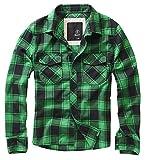 Brandit Check Shirt Green+Black XXL