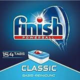 Finish Classic Spülmaschinentabs, Sparpack, 1er Pack (1 x 154 Tabs)