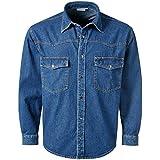 Pionier 922-M Jeans-Hemd'Denim' Größe M in blau,