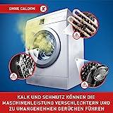 Calgon 2in1 Tabs, Wasserenthärter gegen Kalk & Schmutz in der Waschmaschine, 75 Stück
