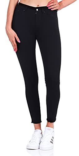 ONLY Damen Ankle Jeans Blush Life Mid...