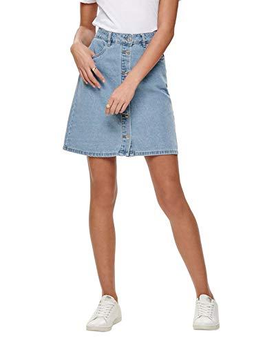 ONLY NOS Damen Onlfarrah Reg Dnm Skirt...