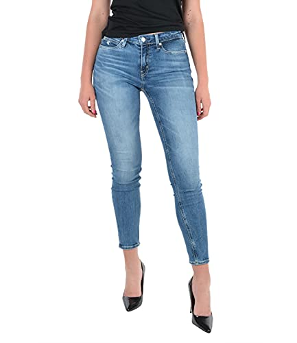 Calvin Klein Jeans Damen MID Rise Skinny...