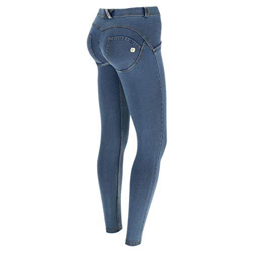 FREDDY Damen Skinny Jeans, , Blau (Jeans...