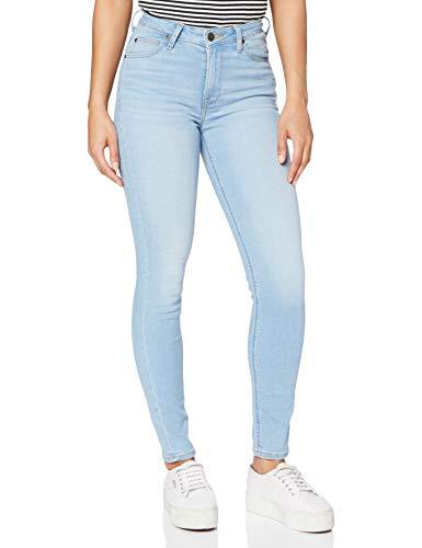Lee Damen Scarlett High Jeans, Bleached...