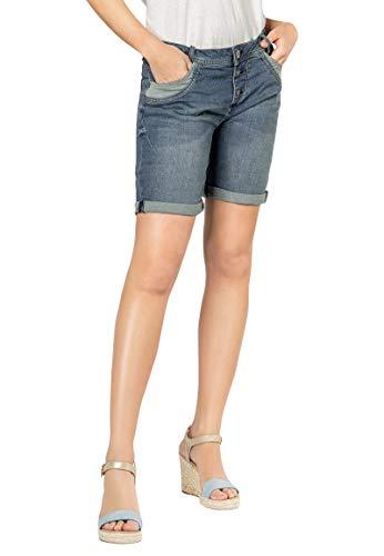 Sublevel Damen Jeans Bermuda Shorts mit...