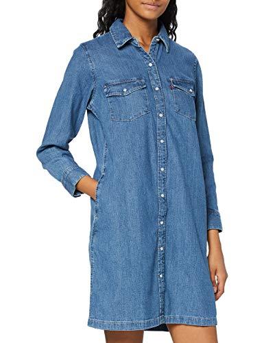 Levi's Damen Selma Dress Kleid, Blue...