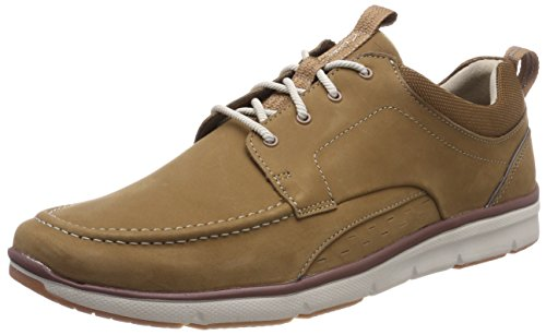 Clarks Herren Orson Bay Sneaker, Braun...