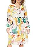 ESPRIT Collection Damen 040EO1E313 Kleid, Off White 4 (113), 42