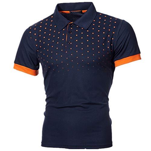 CFWL Sommer T-Shirt Herren Kurzarmhemd...