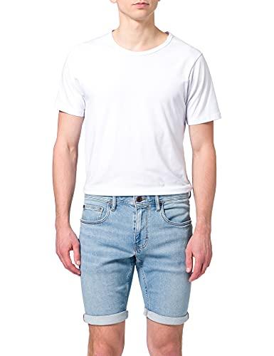 ESPRIT Herren 051EE2C303 Jeans-Shorts,...