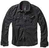 Brandit Vintage Shirt Longsleeve Schwarz XXL