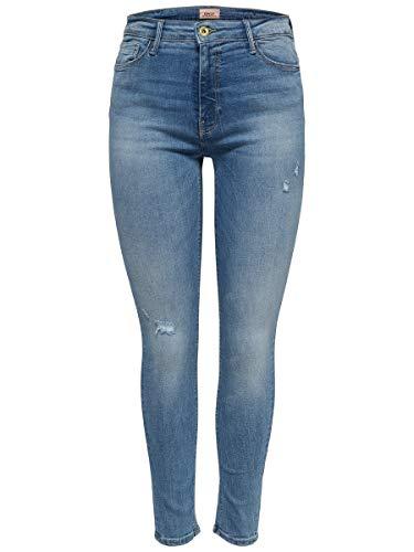 ONLY Damen Hight-Waist Jeans Hose...