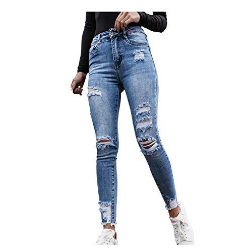 Ghemdilmn Damen Skinny High Waist Jeans...