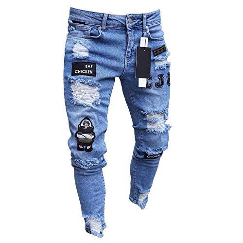 Jeans Männer Coole Schwarze Jeans...