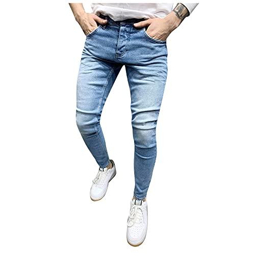 LUNULE Herren Jeanshose Skinny Fit...
