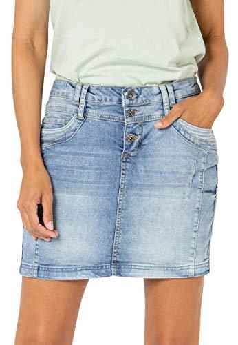 Sublevel Damen Jeans Mini-Rock mit...