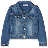 NAME IT Mädchen NITSTAR RIKA DNM Jacket NMT NOOS Jacke, Blau (Medium Blue Denim), 158