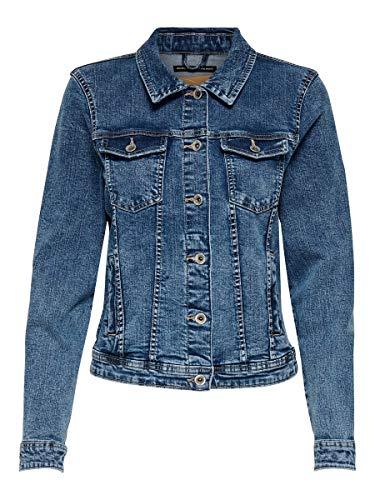 ONLY Damen Onltia Dnm Jacket Bb Mb Bex02...