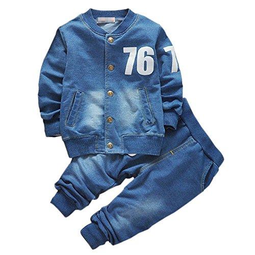 Shiningup Baby Boy Denim Kleidung Set...