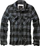 Brandit Check Shirt Herren Baumwoll Hemd XL Black-grey