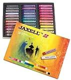 Honsell 47653 - Jaxell Pastellkreide, eckige Form, 36er Set, für flächiges und präzises Arbeiten, satte, lichtechte Farben, ideal für Künstler, Hobbymaler, Kinder, Schule, Kunstunterricht