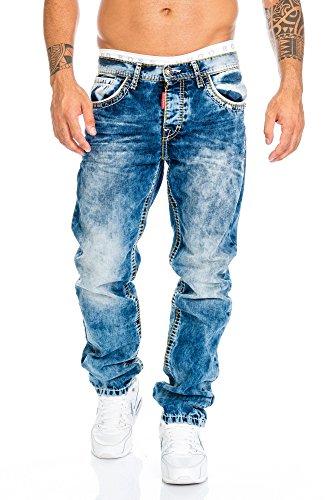 Cipo & Baxx Herren Jeans Hose mit...
