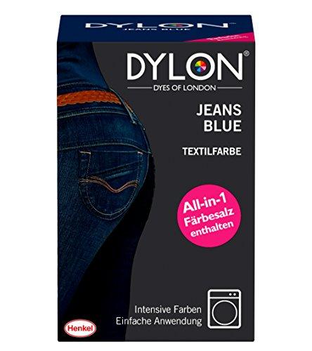 DYLON Textilfarbe, Jeans Blue, 1er Pack...