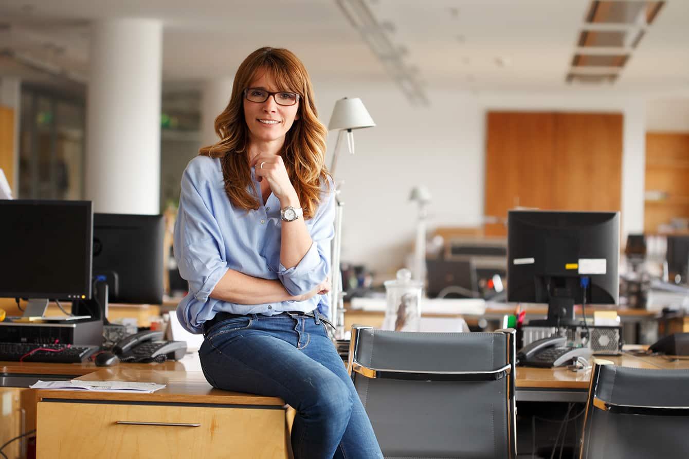 Jeans ins Büro - so wird die blaue Baumwolle seriös