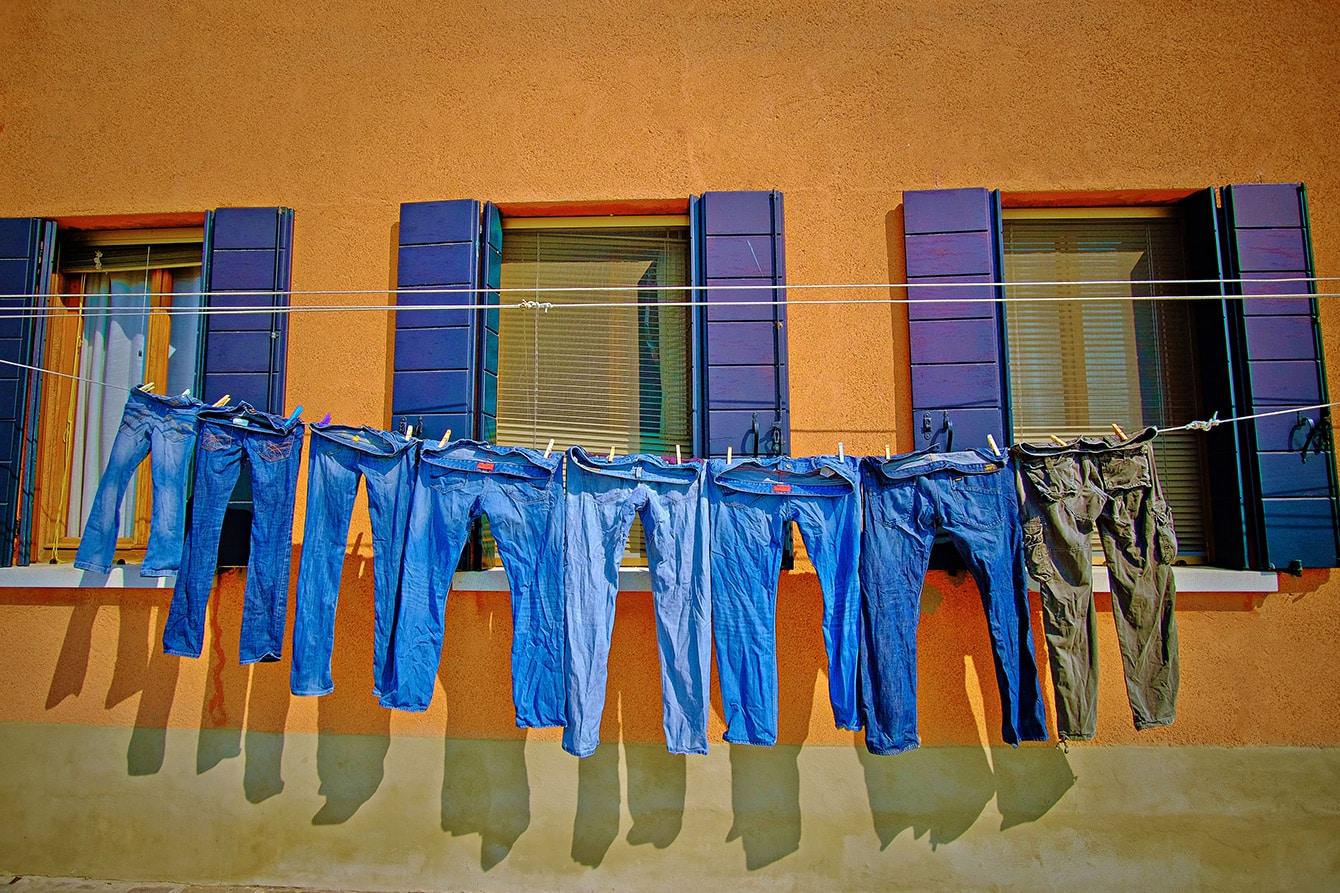 Jeans richtig waschen