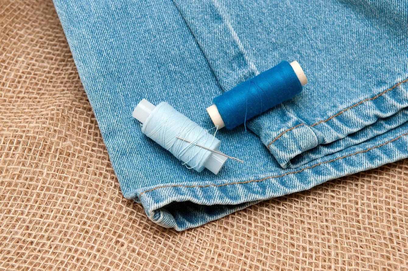 Jeans flicken - diese Tipps sind hilfreich