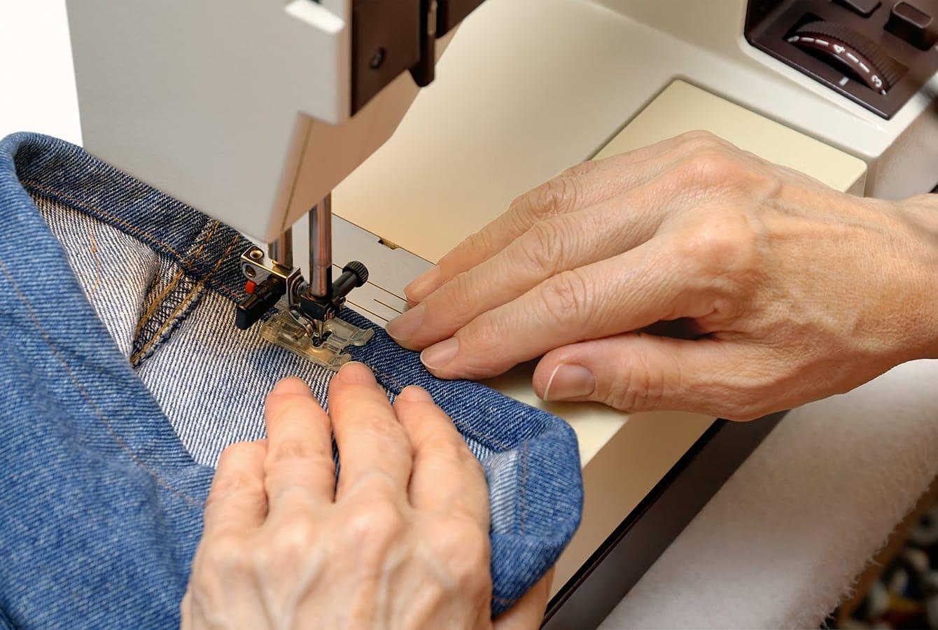 Jeans kürzen mit und ohne Nähmaschine