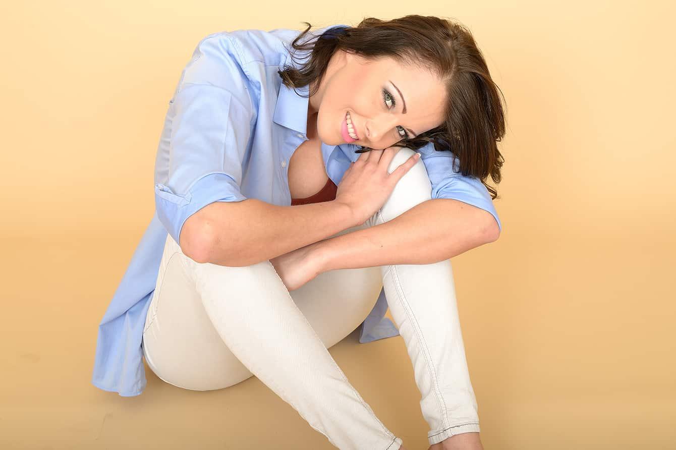Weiße Jeans richtig kombinieren