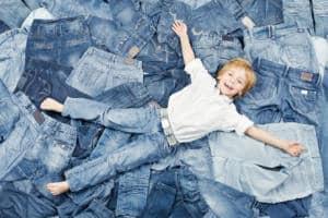 Jeans für Kinder - robust, langlebig und pflegeleicht
