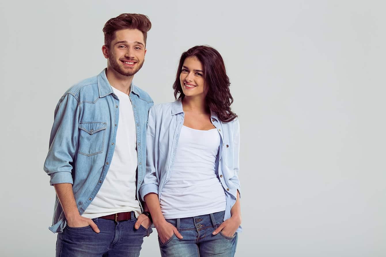 Jeanshemden richtig kombinieren - was sieht gut aus?