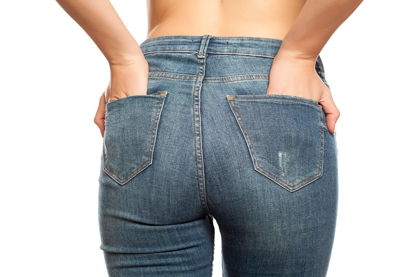 Welche Jeans bringen den Po richtig zur Geltung?